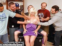 Amateur, Big Boobs, Blonde, Bukkake