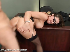 Asian, Cumshot, Glasses, Stockings