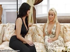 Blonde, Brunette, Masturbation, MILF