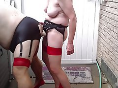 Anal, Femdom, Outdoor, Stockings