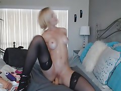 Babe, Big Boobs, Blonde, Masturbation