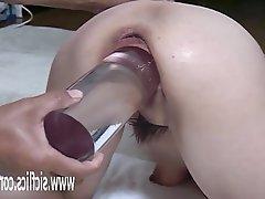 Amateur, Asian, Anal, Masturbation