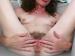 Granny, Mature, Wife, Rubbing