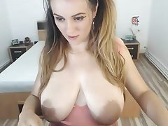 Big Boobs, Big Nipples, Webcam