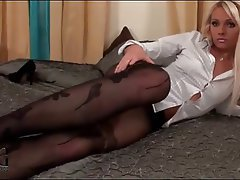 Cumshot, Stockings