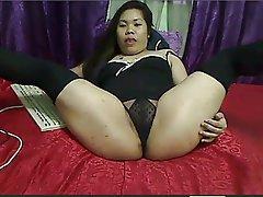 Asian, BBW, Hairy, Thai
