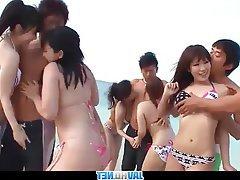 Asian, Creampie, Group Sex, Hardcore