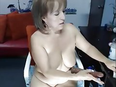 Anal, Dildo, Mature, Webcam