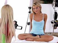 Casting, Babe, Blonde, Teen