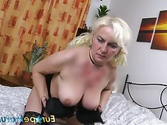 Masturbation, Mature, Pussy