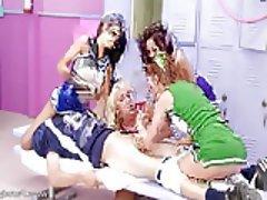 Anal, Teen, Group Sex, Threesome