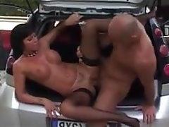 Anal, Cumshot, Italian, Car