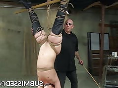 Spanking, Small Tits, Bondage