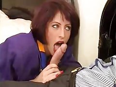 Double Penetration, French, MILF, Vintage