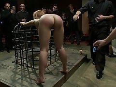 BDSM, Blondine, Knechtschaft, Rau