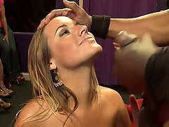 Amateur, Schwarz Hahn, Blondine, Blowjob