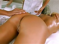 Blonde, Lesbién, Massage