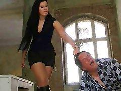 Femme dominatrice, Germanique