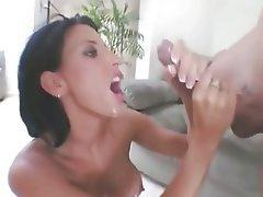 Grands seins, Créampie, Ejac, Hardcore