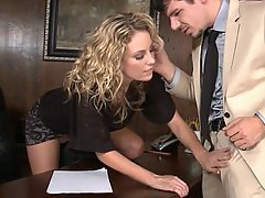 Blonde, Beauty, Babe, Office