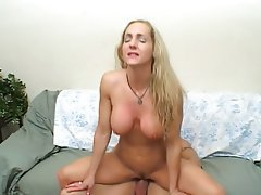 Big Boobs, Blonde, Facial, MILF