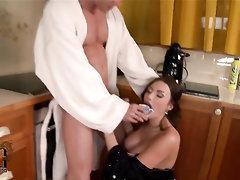 Babe, Big Cock, Big Tits, Blowjob