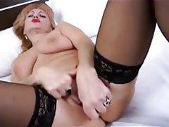 MILF, Stockings, Webcam