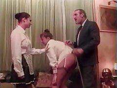 BDSM, Threesome, Brunette, Pantyhose