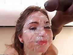 Sborrata, Sperma in faccia