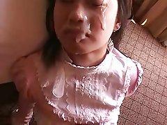 Amatoriale, Sborrata, Sperma in faccia, Giapponese