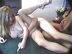 Cumshot, Pornstar, Threesome