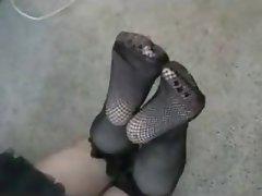 Amateur, Femdom, Fuß Fetisch, Strümpfe