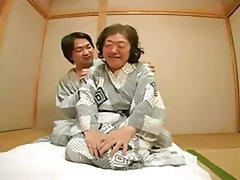 Granny, Japanese, Mature