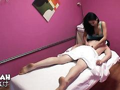 Asian, Blowjob, Handjob, Massage