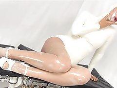 Latex, Lesbian, Medical, Stockings