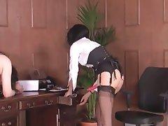 BDSM, Tracht Prügel, Strapon