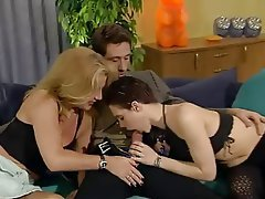 Anal, German, Group Sex, Pantyhose
