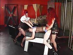 Stockings, Strapon, Threesome