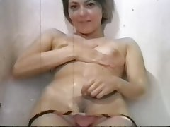 Handjob, POV, Shower, Vintage
