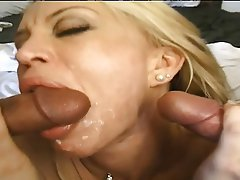 Double Penetration, Big Boobs, MILF, Mature