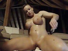 Big Boobs, Blonde, Masturbation, Webcam