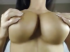 Big Boobs, British, Brunette, Masturbation
