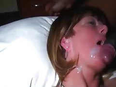 Amateur, Mamada, Disparo de Corrida, Interracial
