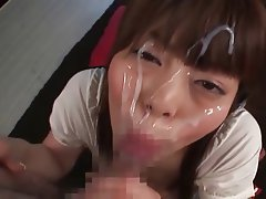 Amateur, Asian, Cumshot, Facial