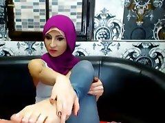 Amateur, Arab, Foot Fetish, Webcam