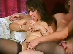 Group Sex, Hairy, MILF, Stockings