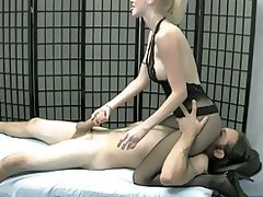 Ass Licking, Blonde, Face Sitting, Femdom
