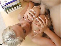 Grosse Ärsche, Blondine, Grosse Boobs, Piercing