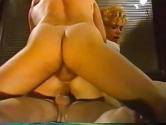 Double pénétration, Star du porno, Faciale, Blonde