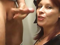 Blowjob, German, MILF